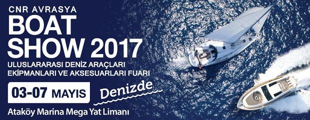 CNR Avrasya Boat Show Denizde