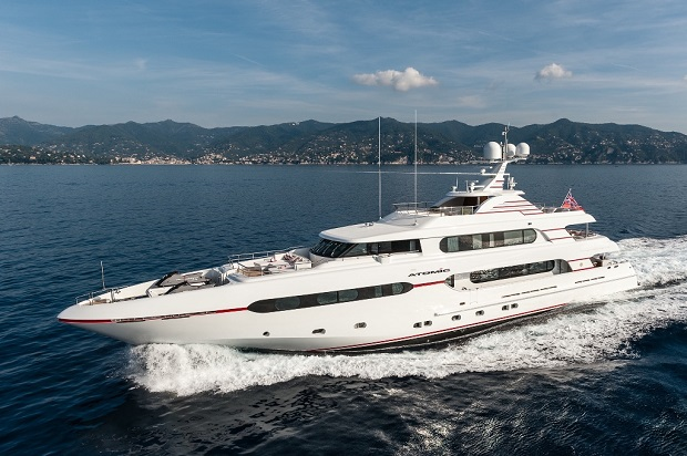 Sunrise Yachts'tan Megayat Atomic 45M