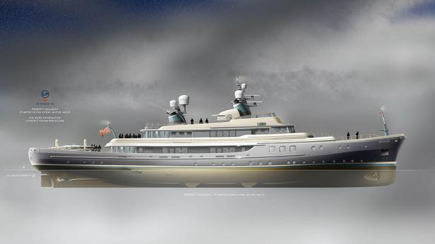 LP Design UK'den 75 Metre Klasik Konsept
