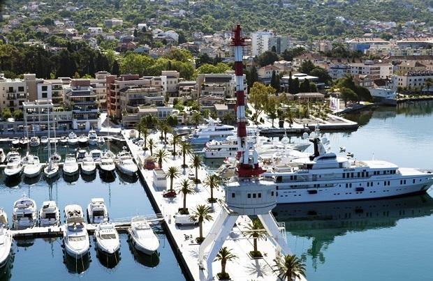 Yatçıların yeni gözdesi Porto Montenegro Marina